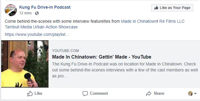 Made in Chinatown - Kung-fu Drive In Podcast